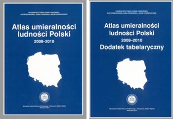 Atlas umieralności ludności Polski 2008-2010