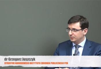 01-02-2018 Wystąpienie Dyrektora Grzegorza Juszczyka dla MedExpress.pl