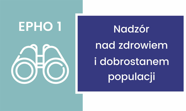 EPHO 1. Nadzór nad zdrowiem i dobrostanem populacji