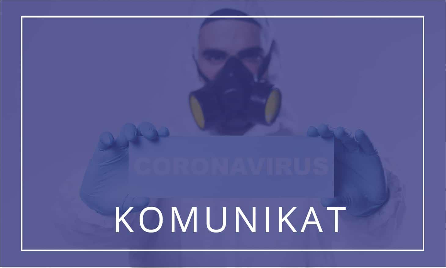 Przyjmowanie próbek do badań w kierunku COVID-19 (koronawirusa)