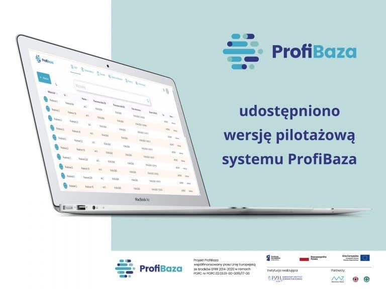 Udostępniono wersję pilotażową systemu ProfiBaza