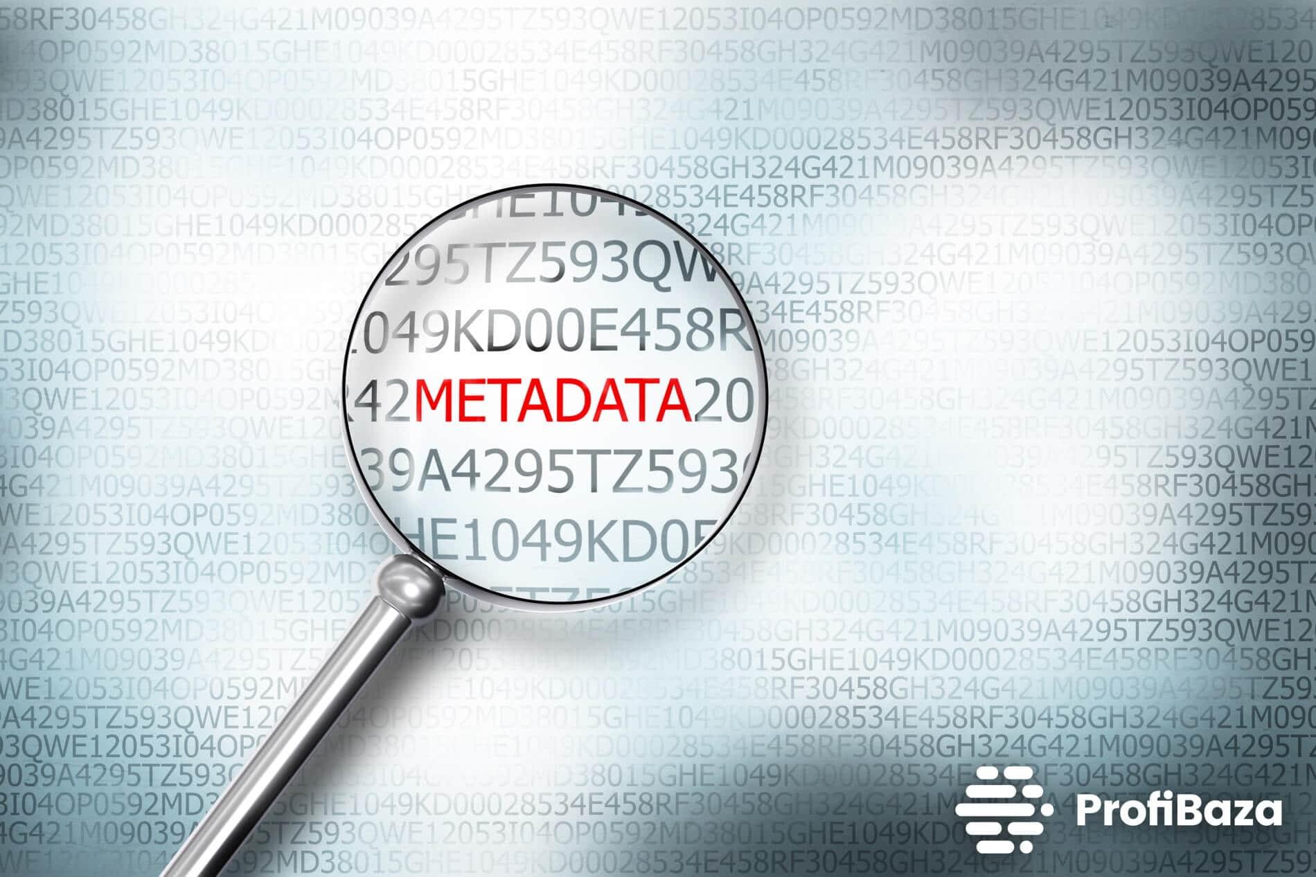 Co to są metadane?