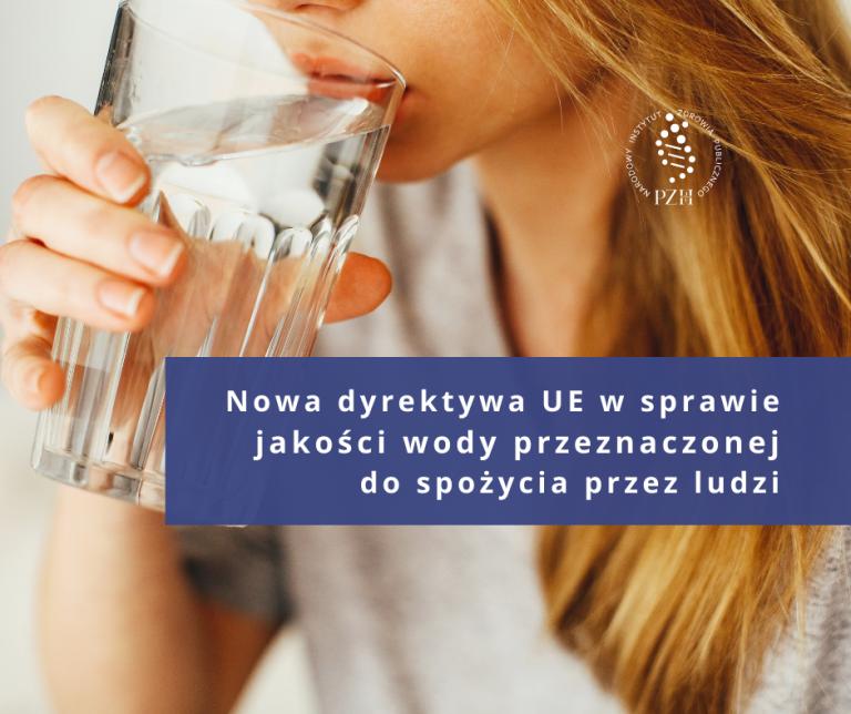 Nowa dyrektywa UE w sprawie jakości wody do spożycia