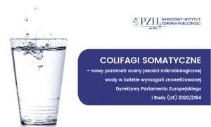 E-szkolenie: Colifagi somatyczne – nowy parametr oceny jakości mikrobiologicznej wody w świetle wymagań znowelizowanej Dyrektywy Parlamentu Europejskiego i Rady (UE) 2020/2184