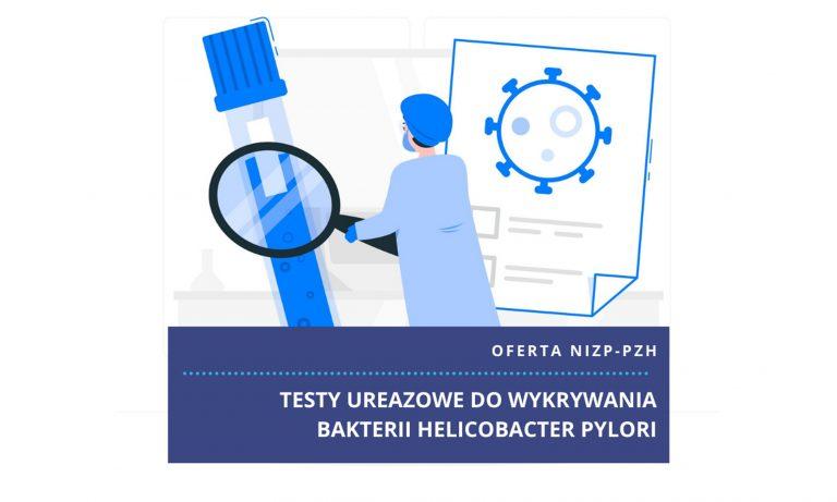 Testy ureazowe do wykrywania Helicobacter pyroli