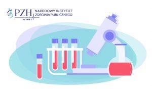 Badania laoratoryjne mikoskop i próbki krwi ilustracja